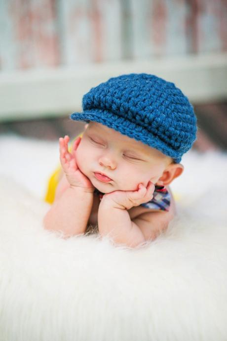 LOVE CROCHET ART Crochet Photography Props Baby Cap Baby hat
